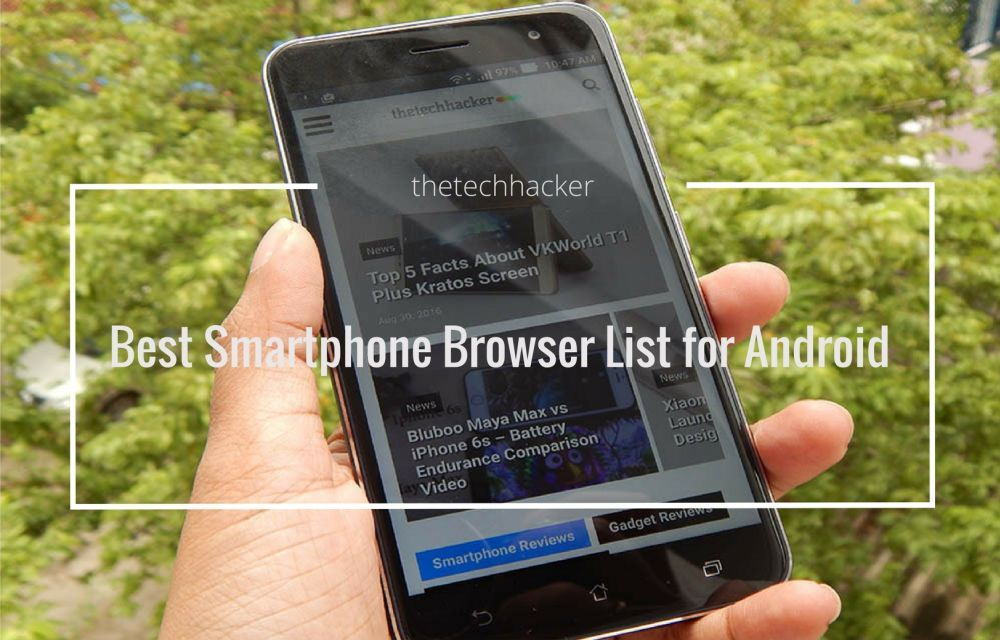 Best Smartphone Browser List for Android