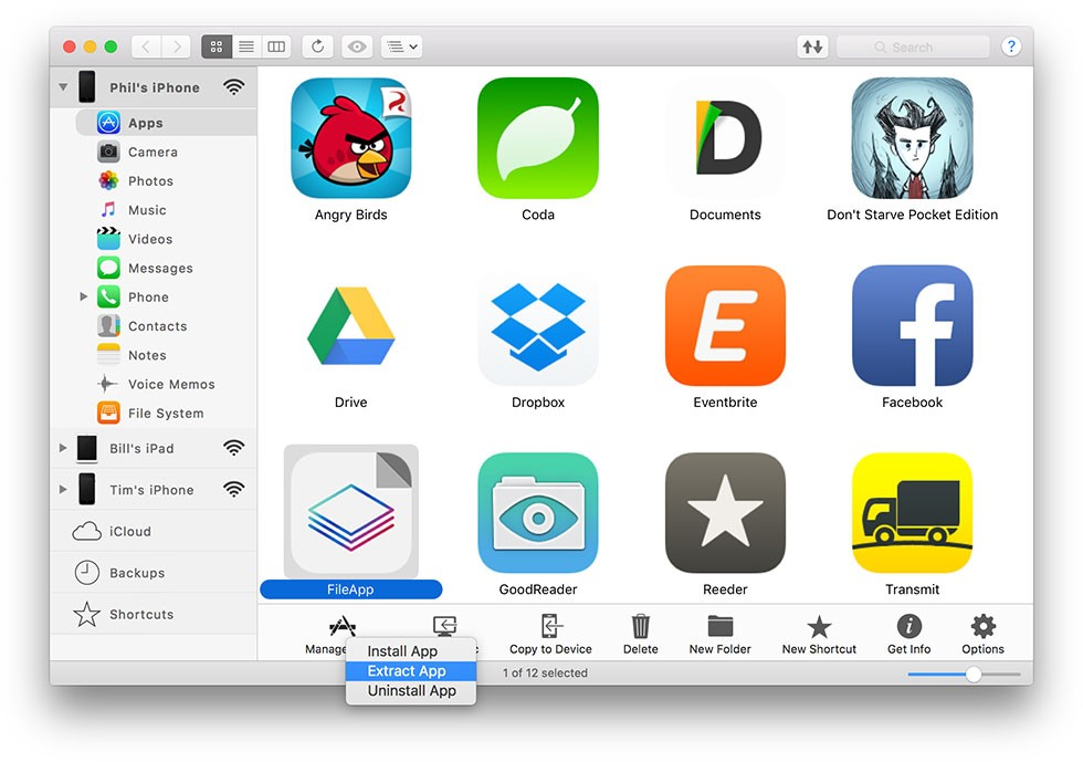 Taking Backup of iOS Apps