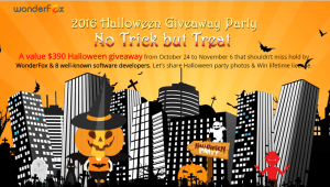 A Halloween Giveaway Party by Wonderfox: 10 Software No Charge