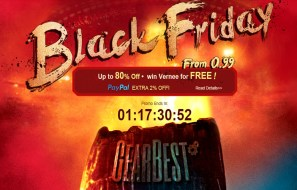 Upto 80% OFF in Gearbest Black Friday Sale