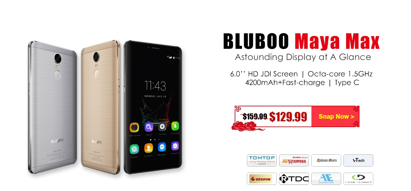 BLUBOO Fires up the 2017 New Year Sales with Significant Discounts 3