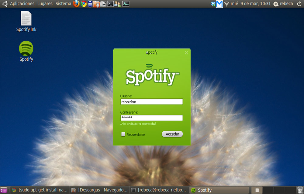 Install Spotify in Ubuntu