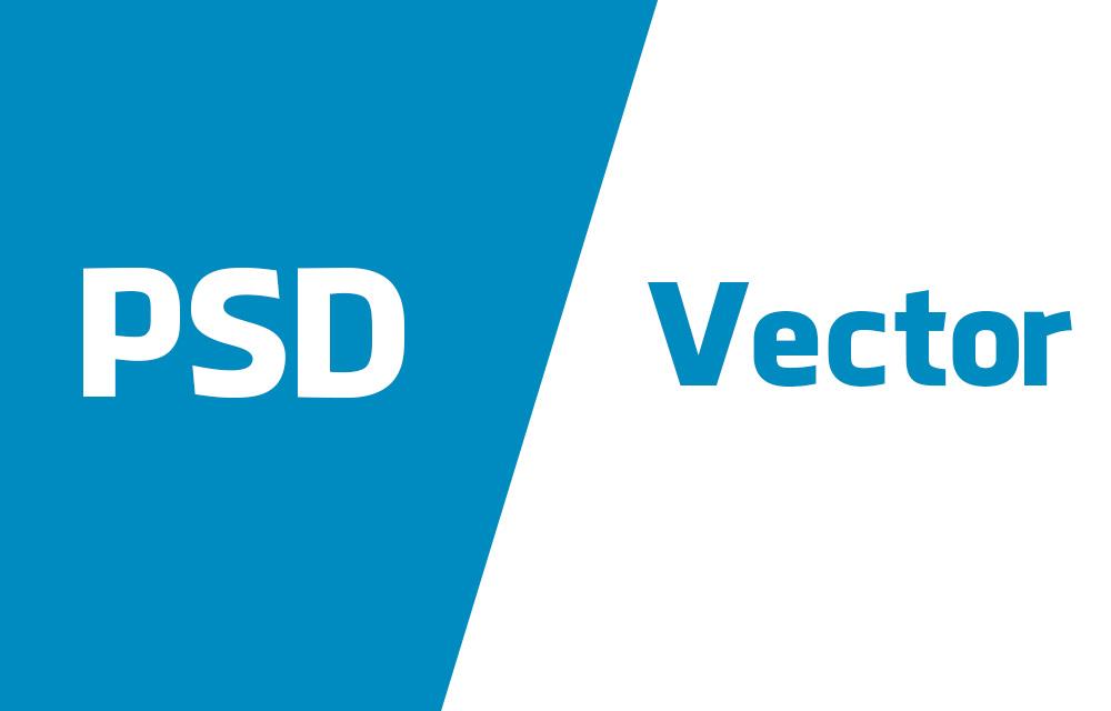 Convert PSD to Vector