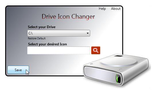 Drive Icon Changer