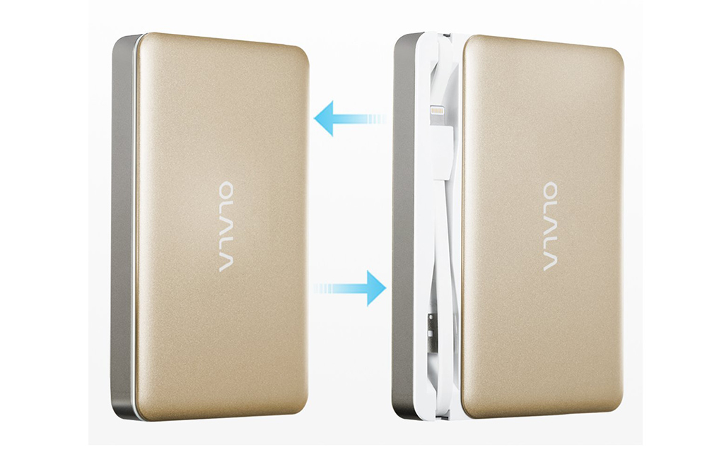 OLALA 7500mAh Slide Power Bank Design