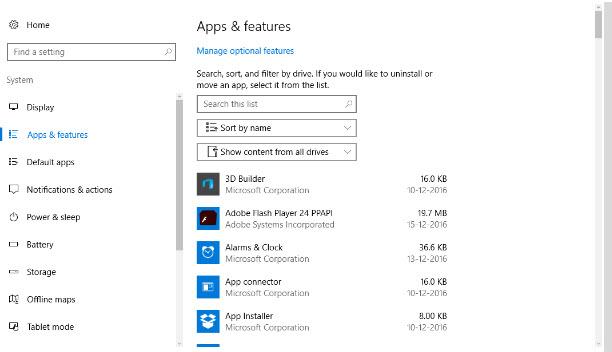 Uninstall Unused Apps