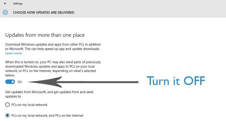 Windows 10 Update to Improve Internet Speed