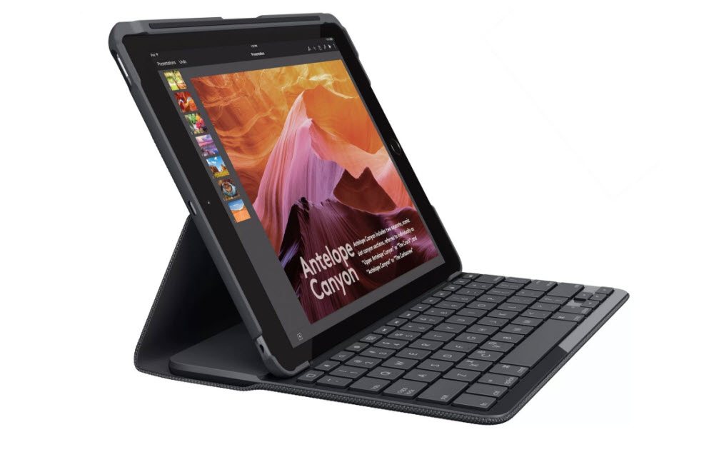 Logitech Slim Folio Keyboard Case for iPad 2017