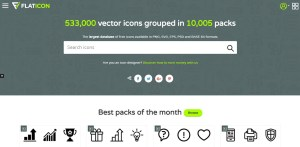 Flaticon Review: The Largest Free Icon Collection