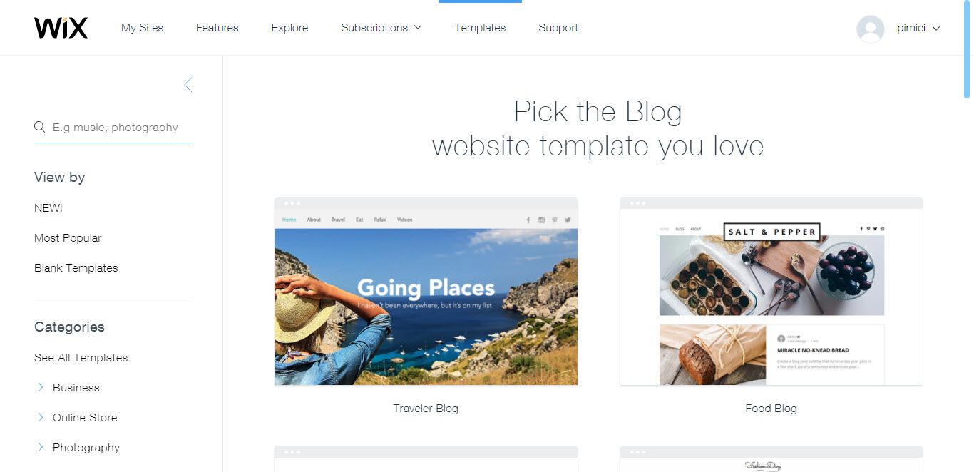 Create a Website with Wix 6
