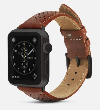 MonowearPerforated Leather Band