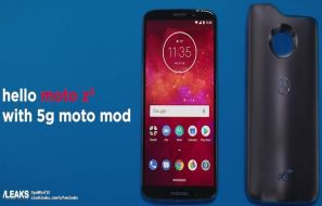 Leaked Documents Exposes Moto Z3 to the Users