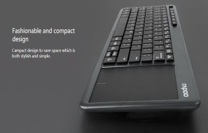RAPOO India launches K2600 Wireless Touch Keyboard