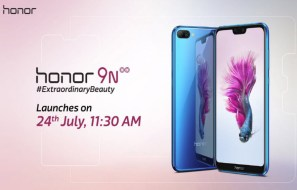 Honor 9N Announced in India with a Notched 19:9 Display and Dual Rear Cameras