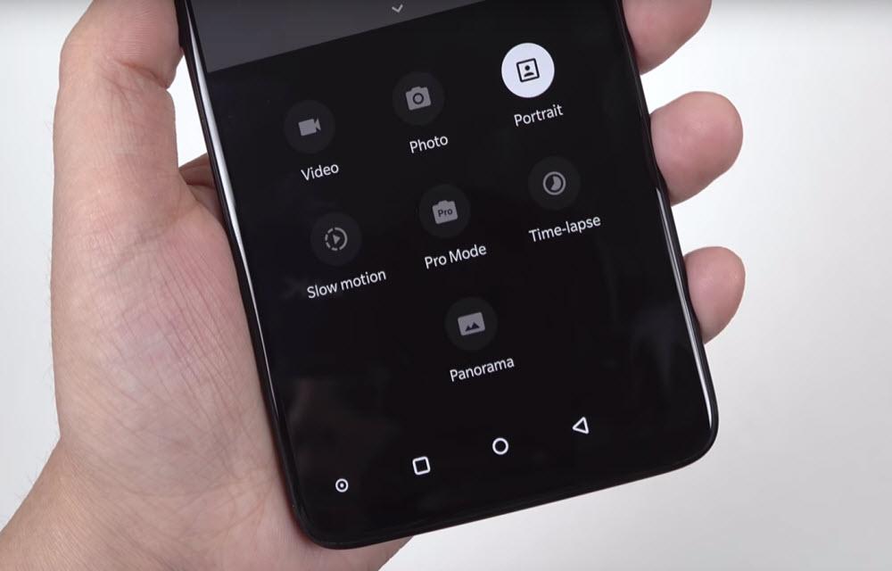 OnePlus 6 Camera Modes