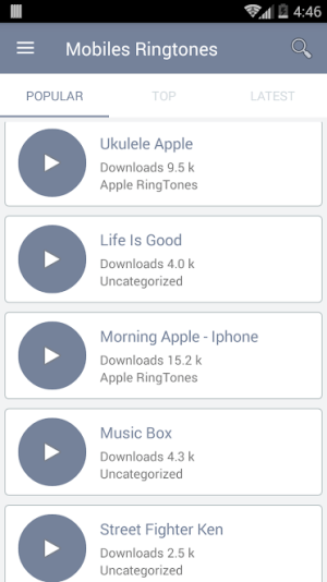 Mobiles Ringtones
