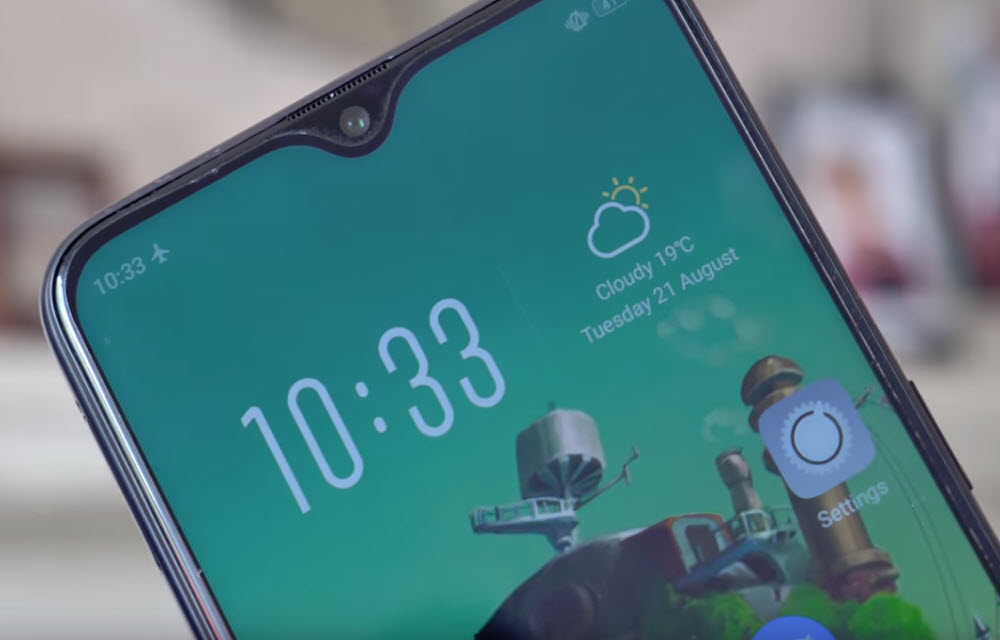 Oppo F9 Pro Display