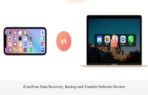 iCareFone Data Recovery, Backup and Transfer Software Review