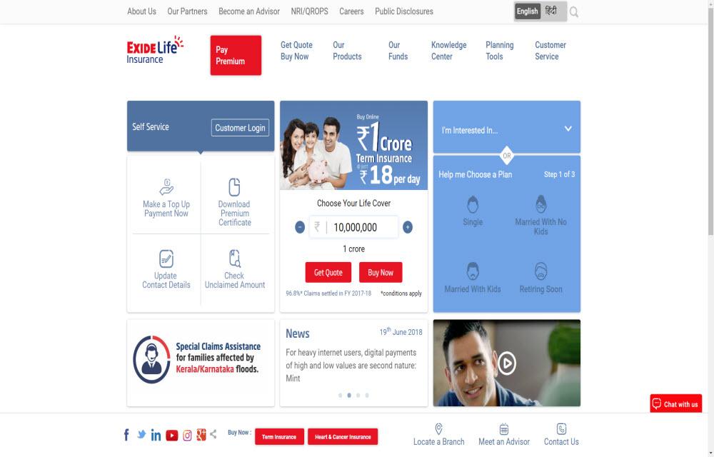Exide Life Insurance Co. LTD