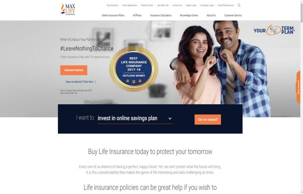 Max Life Insurance Co. Ltd