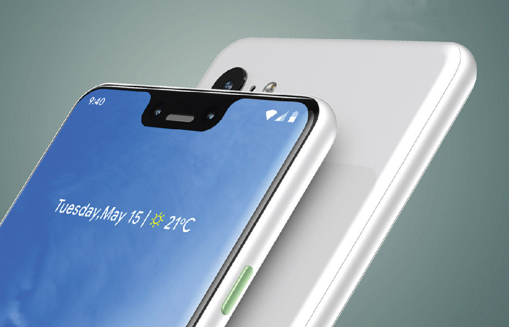 Gooagle Pixel 3 XL Announced With Large Display And AI Integration Features