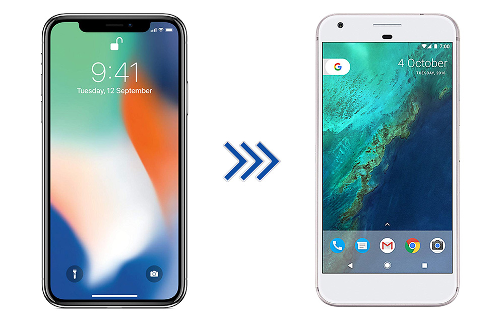 How to Switch from iPhone to Android Smartphone