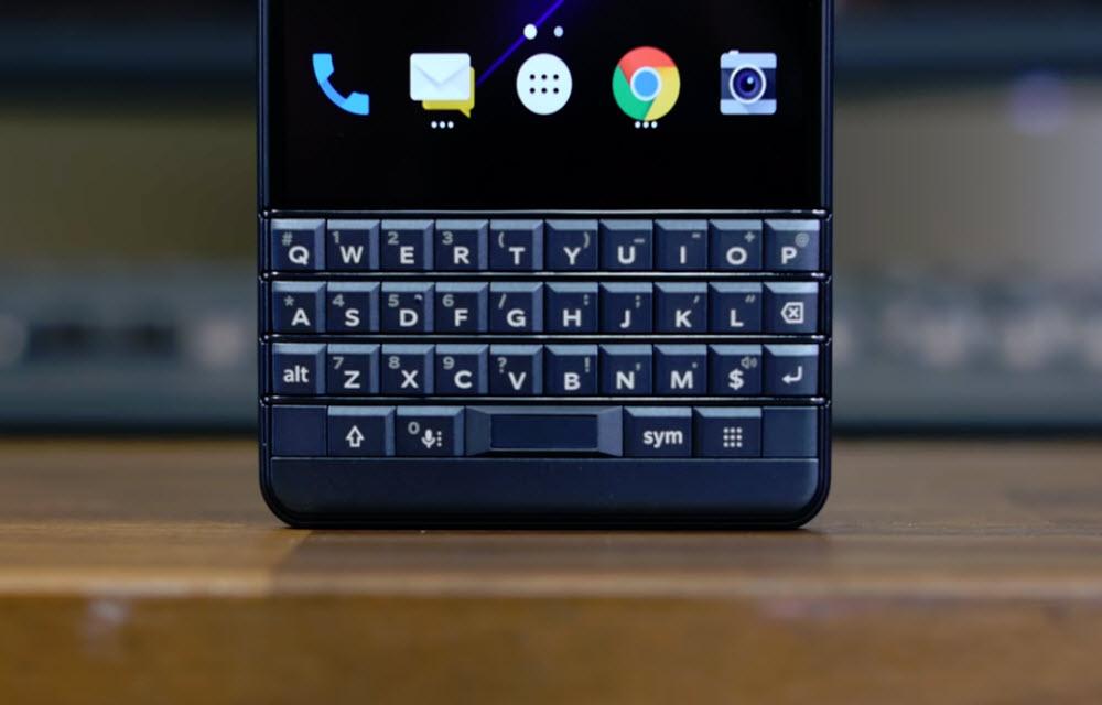 BlackBerry Key2 LE Keyboard