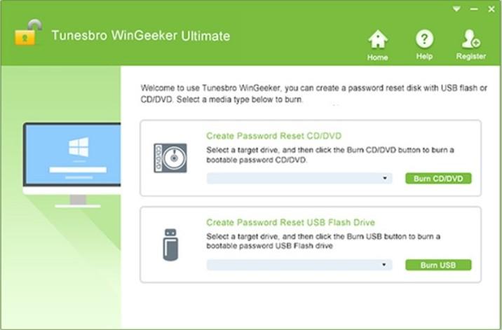 WinGeeker interface