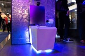 Kohler smart toilet at CES 2019