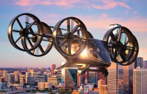 Uber Partner Revealed Flying Taxi