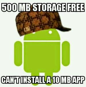 Android can't install app