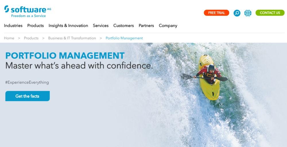 Software AG's Portfolio Management