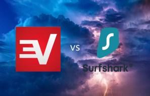 ExpressVPN vs Surfshark VPN comparisons