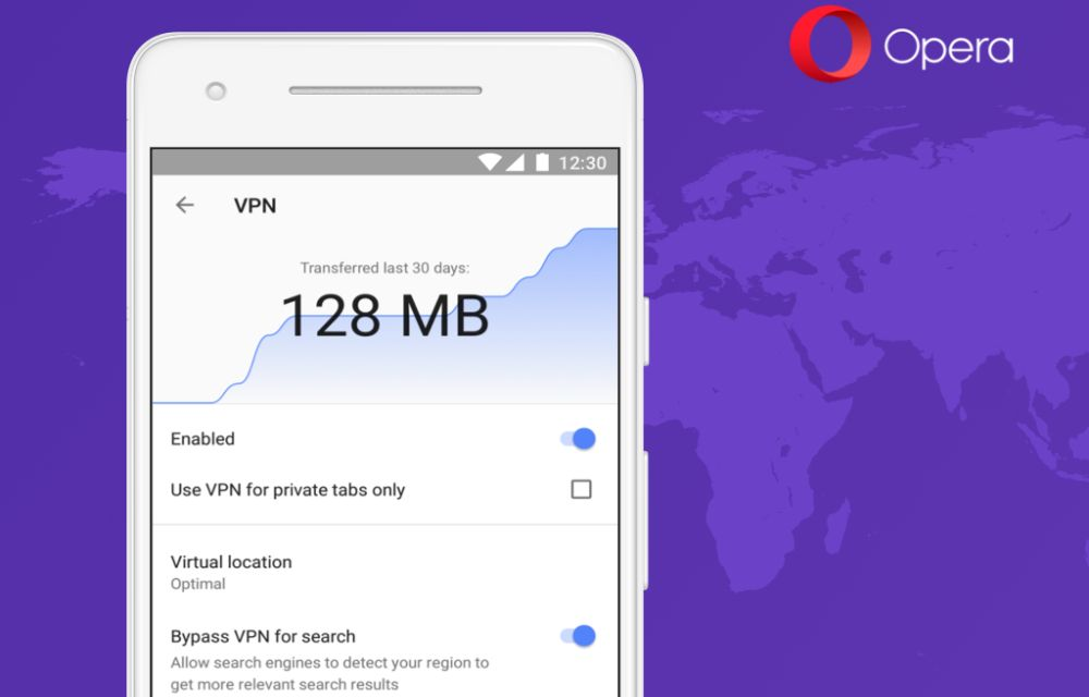 How To Use Opera Browser's Free VPN For Android