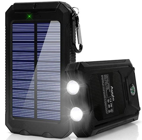 Ayyie Solar Charger 10,000mAh Solar Power Bank