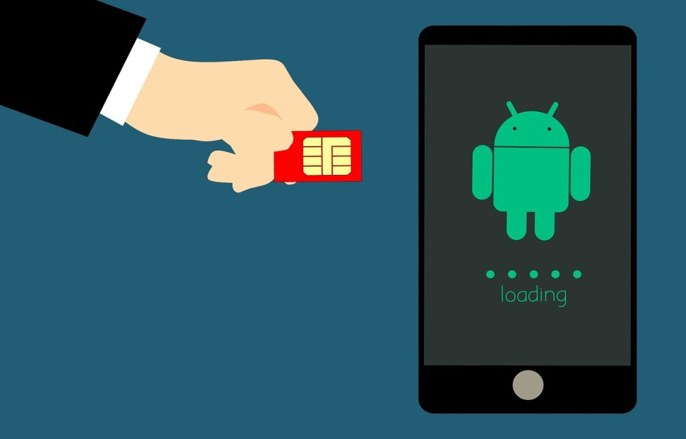 Inserting SIM card in Android