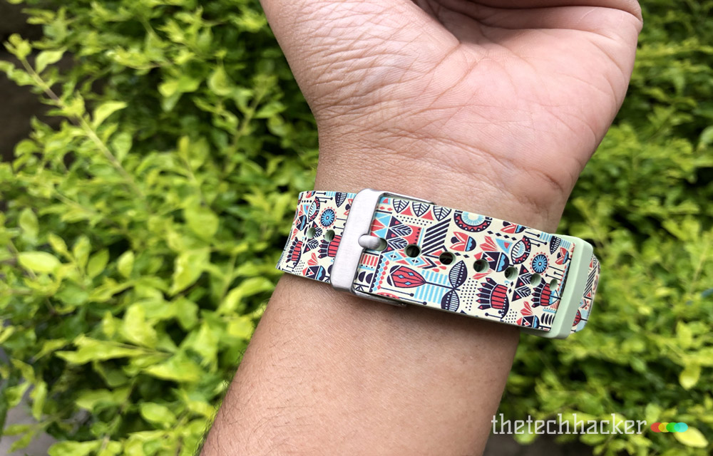 Supwatch Printed Silicon Sport Band for Apple Watch Design