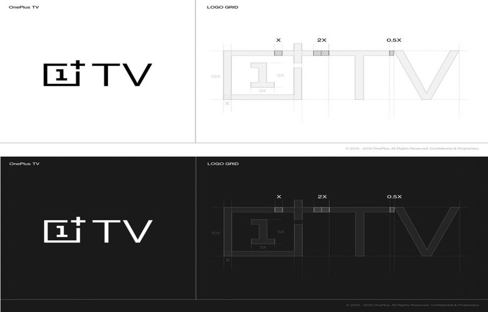 OnePlus TV logo design process