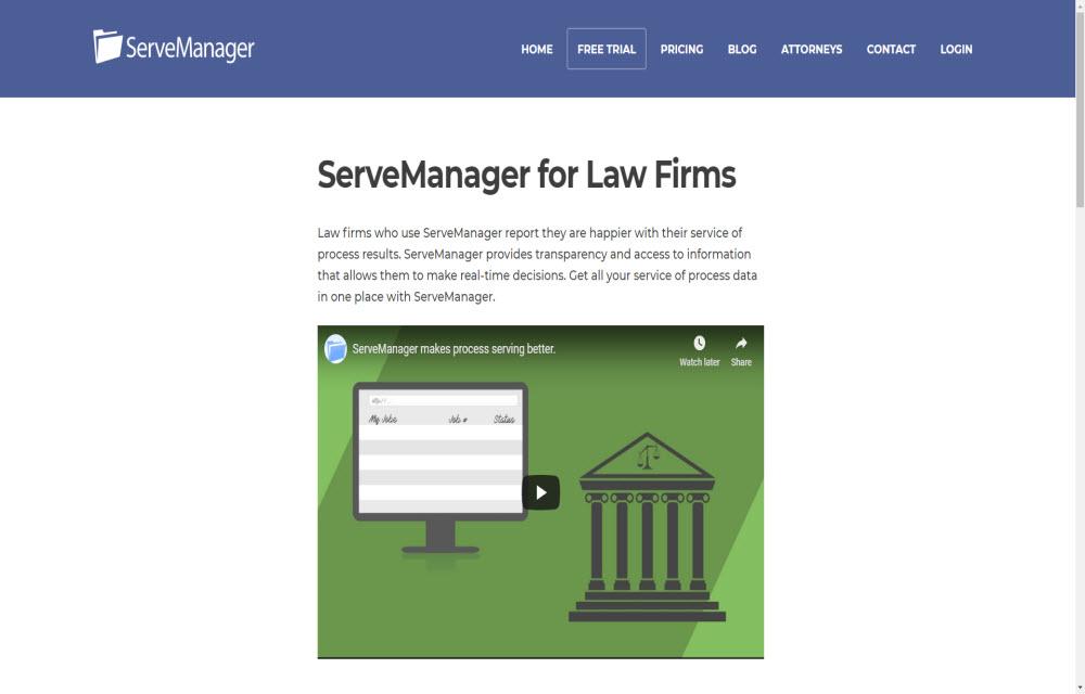 Serve Manager