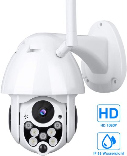 Mbuynow Pan Tilt HD 1080P IP Camera with Night Vision