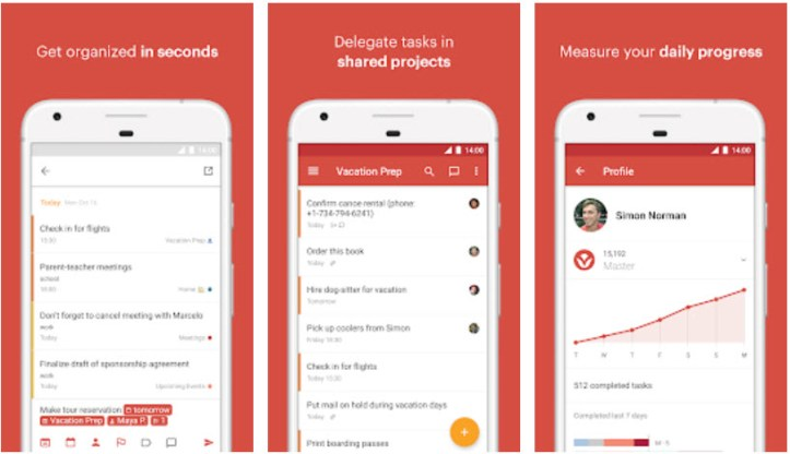 Todoist- To-Do List, Tasks & Reminders