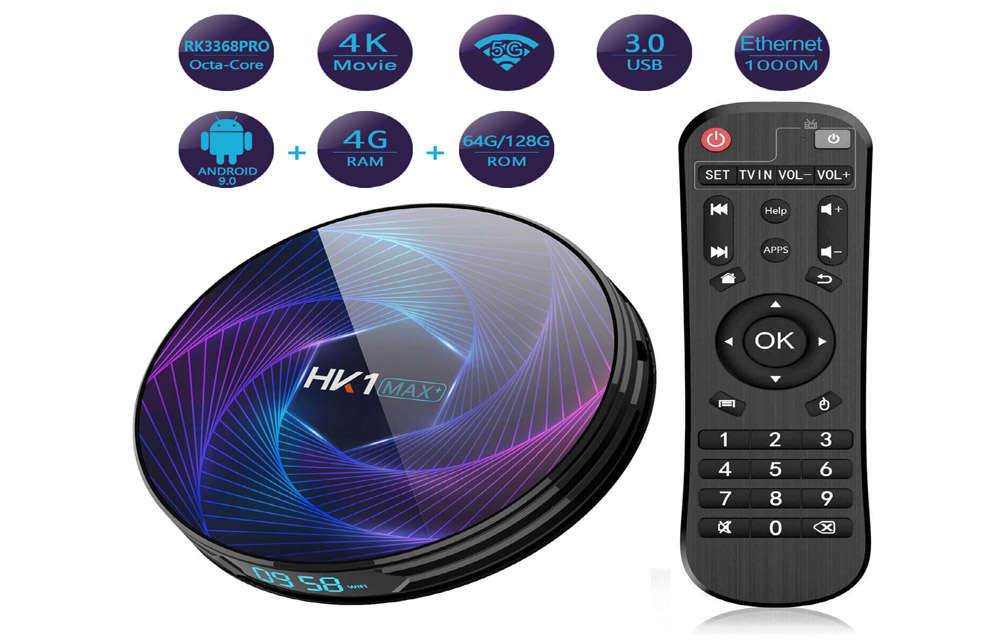 Vissiontech HK1 MAX with Android 9.0 Pie TV Box Review