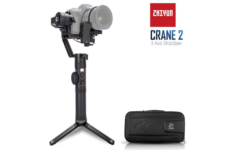 [Deal inside] You can buy a Zhiyun Crane 2 Gimbal at 25% off from Amazon right now