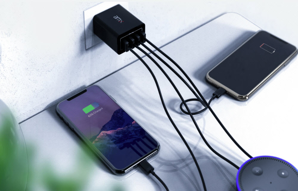 AMX XP 40 Wall Charger Review- Charge All of Them