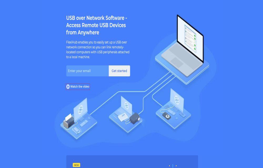 FlexiHub- Access USB Devices Anywhere