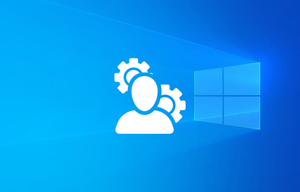 Change Administrator Account in Windows 10