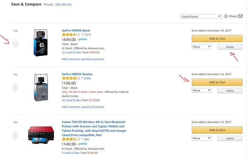 Amazon Christmas Wish List