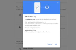 google security key phone