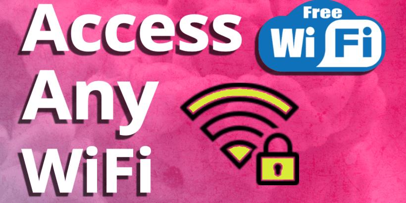 How to access any WiFi hotspot