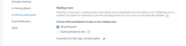 how to secure zoom waiting room - thetechieguy